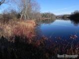 Glassy water on Otter Creek