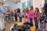 Getting a binocular lesson