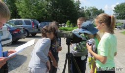 Fun with spotting scopes